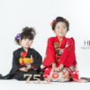 ☆七五三コラボ撮影会☆ きもの こづち × HIKARI 【7歳女の子 3歳女の子】