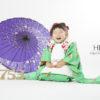 ☆七五三コラボ撮影会☆ きもの こづち × HIKARI 【3歳女の子とワンちゃん】