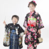 ☆七五三コラボ撮影会☆ きもの こづち × HIKARI 【7歳女の子と5歳男の子】