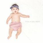 【等身大フォト】5ヶ月の赤ちゃん